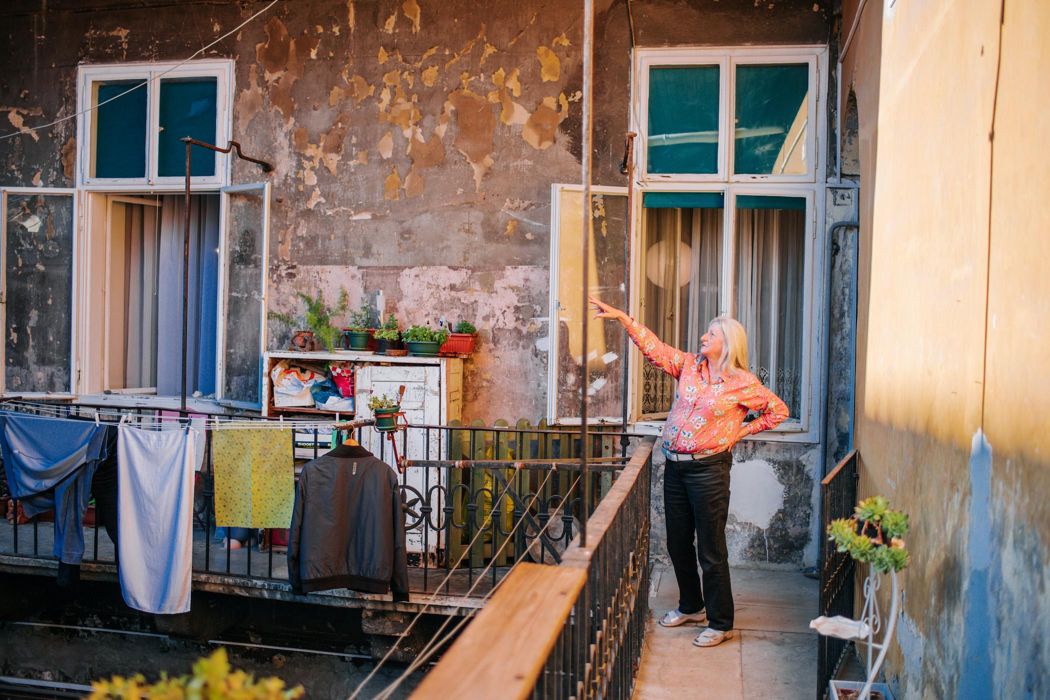 Zagreb, 050520. Bozena Caric zivi u kuci u Radicevoj 24 stradaloj u potresu.. Foto: Marko Miscevic / Cropix -svijet-
