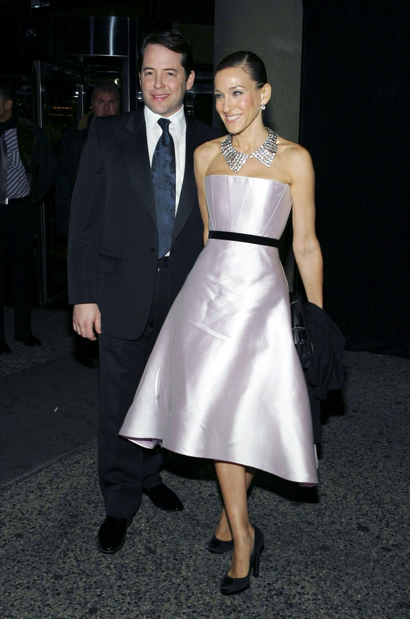 Matthew Broderick, Sarah Jessica Parker at the after-party for The Odd Couple Opening Night, The Marriott Marquis Hotel, New York, NY, October 27, 2005., Image: 96906237, License: Rights-managed, Restrictions: , Model Release: no, Credit line: Gregorio BinuyaCollecti / Everett / Profimedia