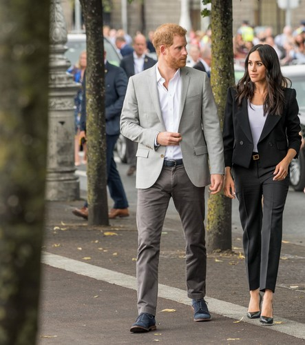 Los Angeles, UNITED KINGDOM  - Prince Harry and Meghan Duchess of Sussex celebrate 2-Year Anniversary of their marriage, while they've just moved from to L.A, USA with their son Archie.  *UK Clients - Pictures Containing Children Please Pixelate Face Prior To Publication*, Image: 491743506, License: Rights-managed, Restrictions: RIGHTS: WORLDWIDE EXCEPT IN NETHERLANDS, Model Release: no, Credit line: BACKGRID / Backgrid USA / Profimedia