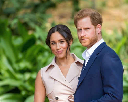 Prince Harry and Meghan Markle Duke and Duchess of Sussex celebrate the first birthday of their baby Son Archie Mountbatten-Windsor in in Malibu, Los Angeles (LA) in the United States of America (USA) -  (Archive). 06 May 2020, Image: 517507878, License: Rights-managed, Restrictions: NO Netherlands, Model Release: no, Credit line: MEGA / The Mega Agency / Profimedia