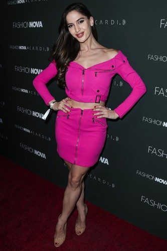 Hollywood, CA  - Celebrities attend the Fashion Nova x Cardi B Collaboration Launch Event at Boulevard3 in Hollywood, California.  Pictured: Natalia Barulich  BACKGRID USA 14 NOVEMBER 2018, Image: 396326051, License: Rights-managed, Restrictions: , Model Release: no, Credit line: Image Press / BACKGRID / Backgrid USA / Profimedia