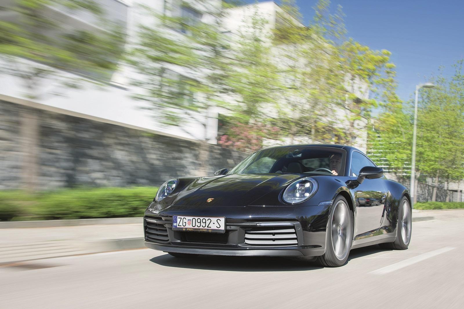 Zagreb, 200420. Porsche 911. Foto: Marko Miscevic / Cropix -auto klub-