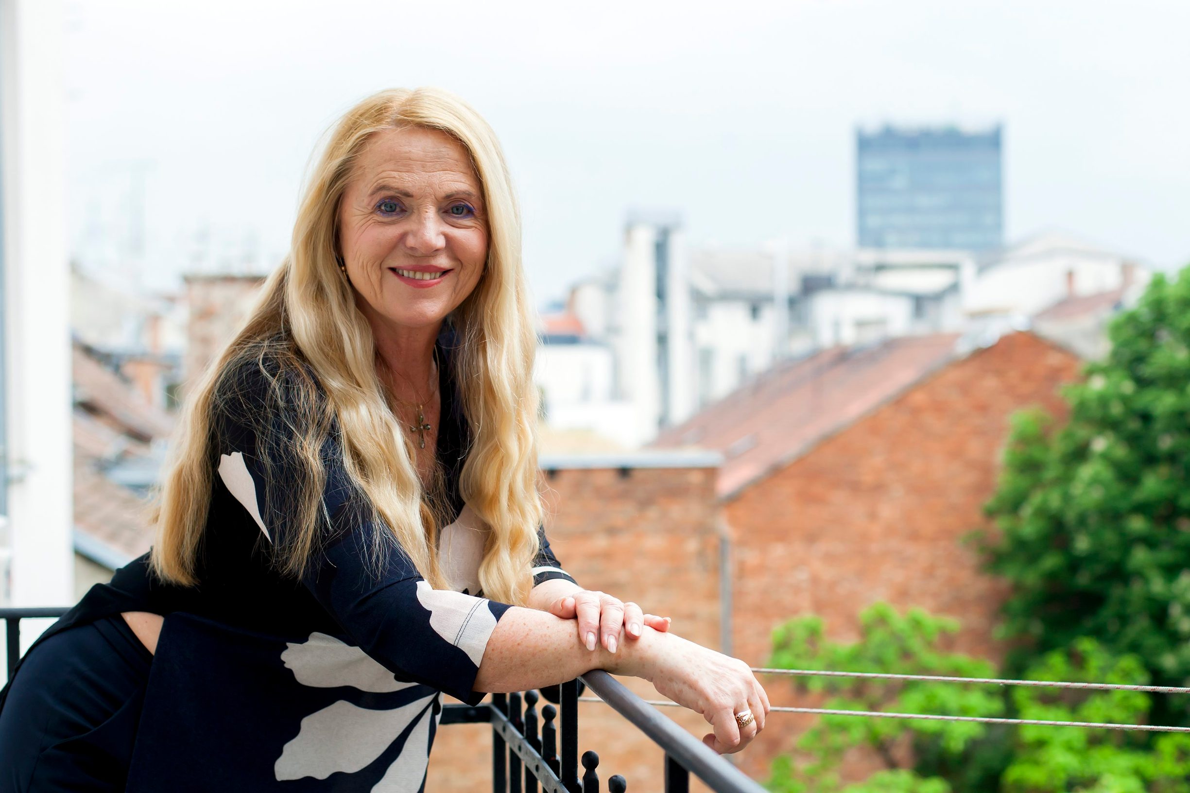 Zagreb, 040518. Amruseva 19. Perica Martinovic - voditeljica Drustva dramskih umjetnika. Foto: Tomislav Kristo / CROPIX