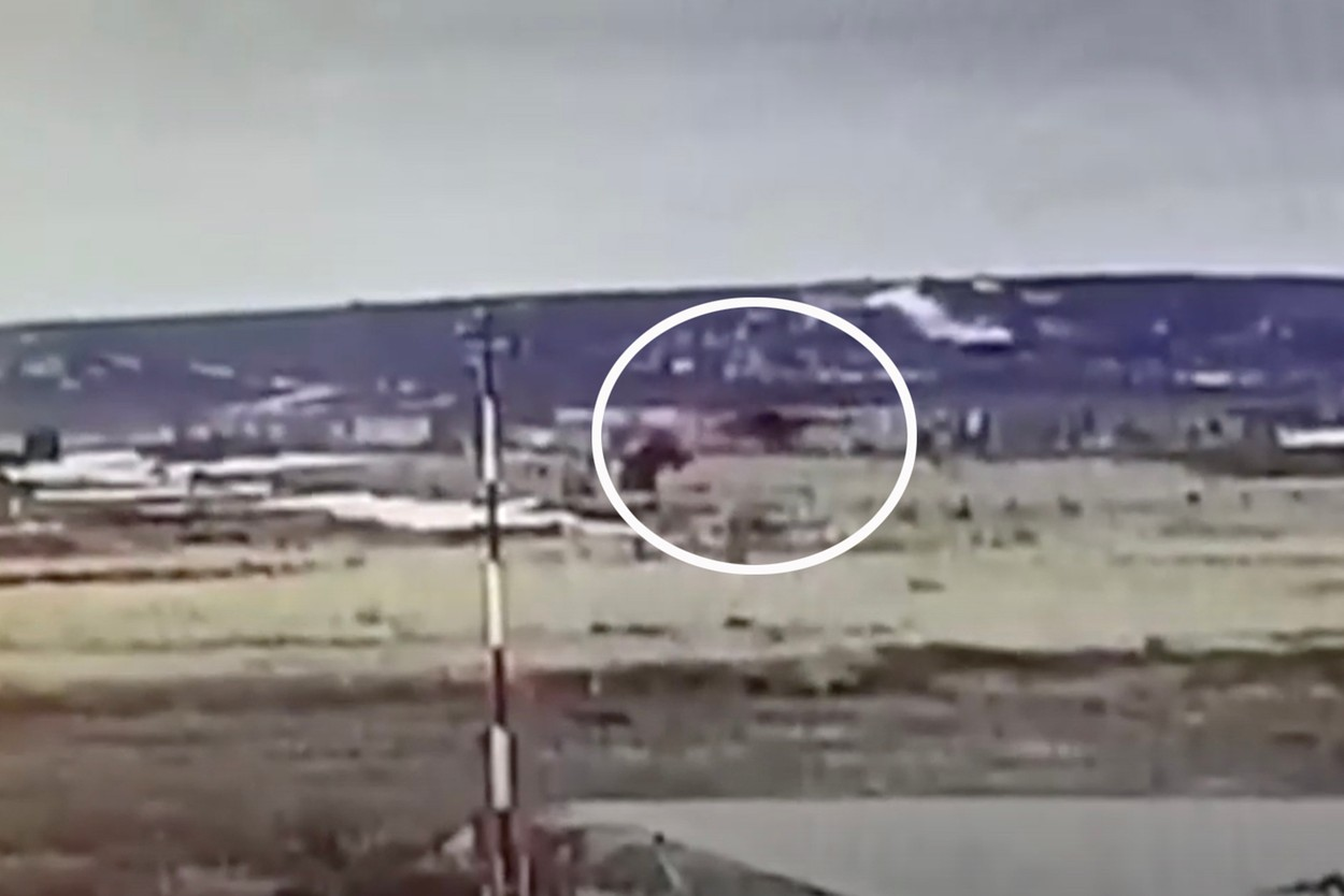 The helicopter was hovering at 15 metres above the ground to test engines when the tragedy struck, Image: 522392962, License: Rights-managed, Restrictions: , Model Release: no, Credit line: social media / East2West News / Profimedia