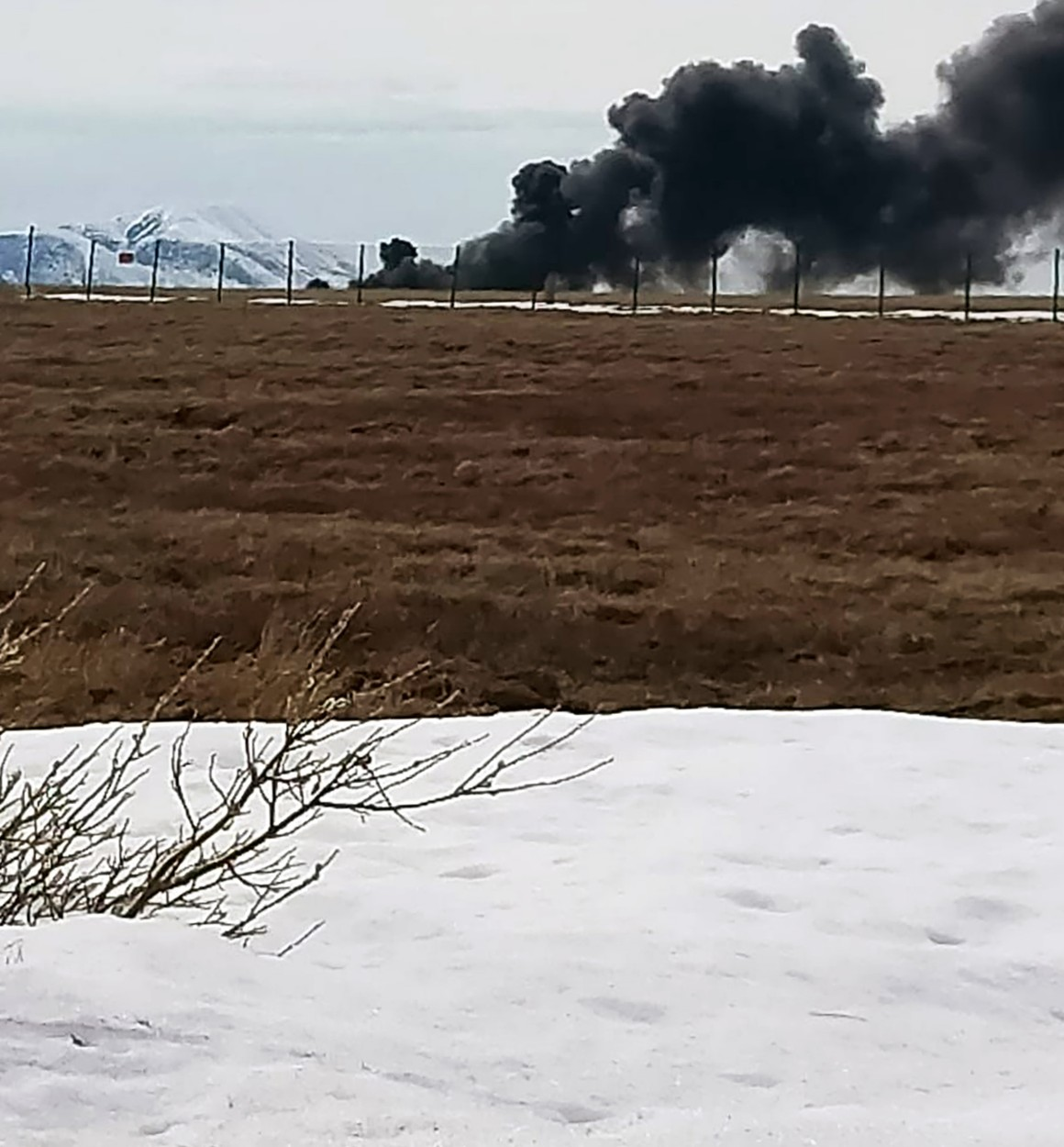 The helicopter was hovering at 15 metres above the ground to test engines when the tragedy struck, Image: 522392964, License: Rights-managed, Restrictions: , Model Release: no, Credit line: social media / East2West News / Profimedia
