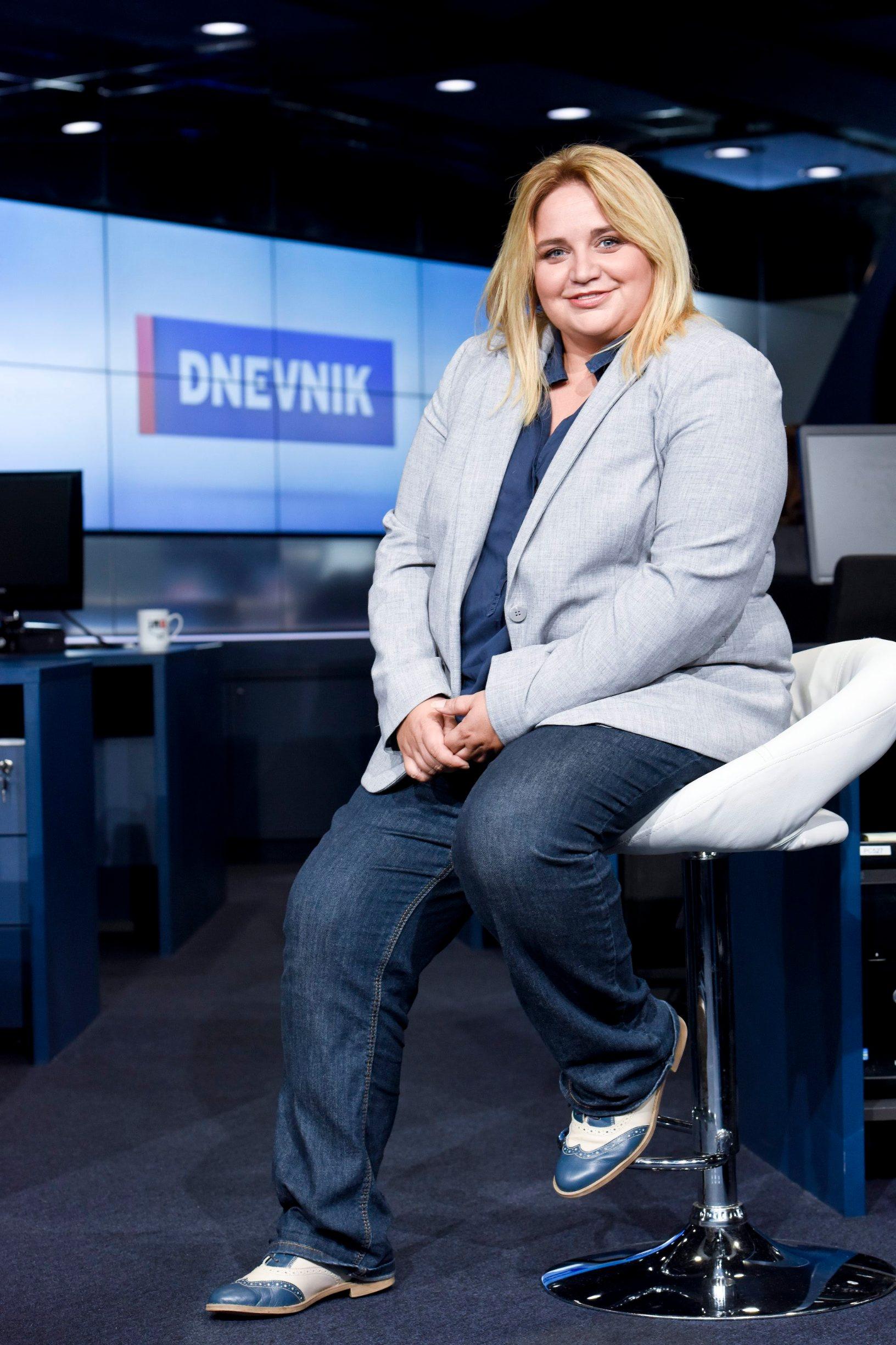 Zagreb, 160817. Remetinecka cesta 139. Tatjana Krajac, novinarka reporterka Nova TV. Foto: Darko Tomas / CROPIX