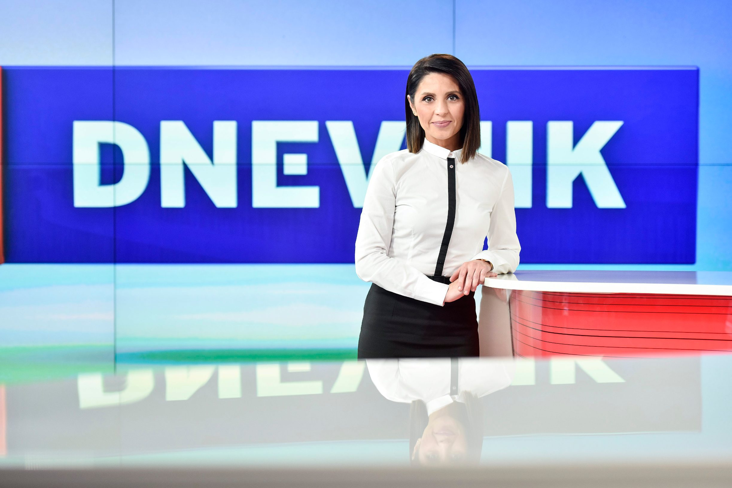 Zagreb, 231017. Marija Miholjek je novinarka i trenutacna voditeljica sredisnje informativne emisije Dnevnik Nove TV. Foto: Sandra Simunovic / CROPIX