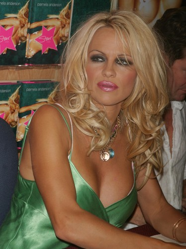 PAMELA ANDERSON SIGNS COPIES OF HER NEW NOVEL STAR AT BORDERS BOOKS, NEW YORK CITY 08/03/2004, Image: 420184339, License: Rights-managed, Restrictions: , Model Release: no, Credit line: /Newscom / Newscom / Profimedia