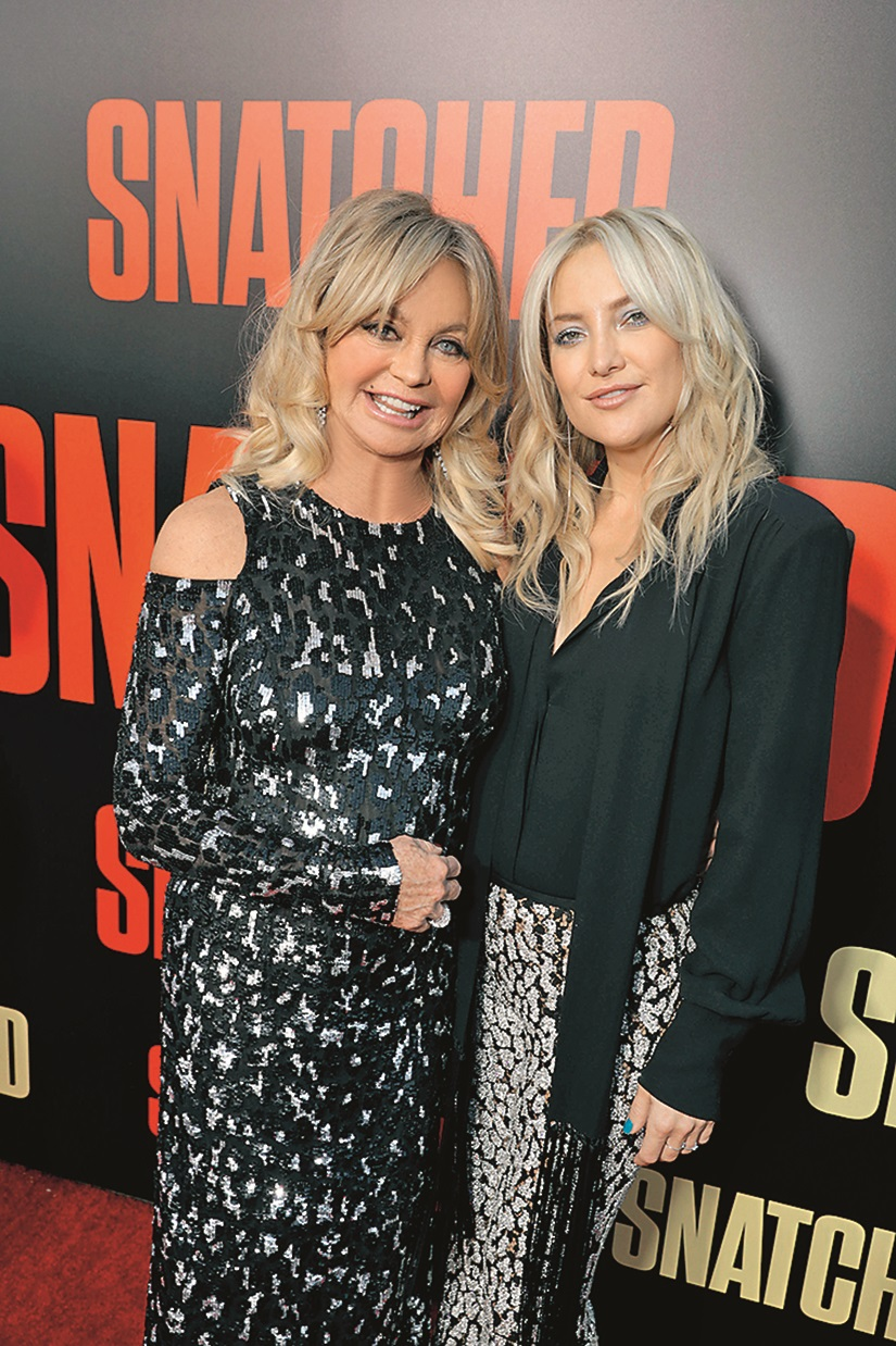 Goldie Hawn, Kate Hudson 'Snatched' film premiere, Arrivals, Los Angeles, USA - 10 May 2017, Image: 331923231, License: Rights-managed, Restrictions: , Model Release: no, Credit line: Charbonneau / Shutterstock Editorial / Profimedia