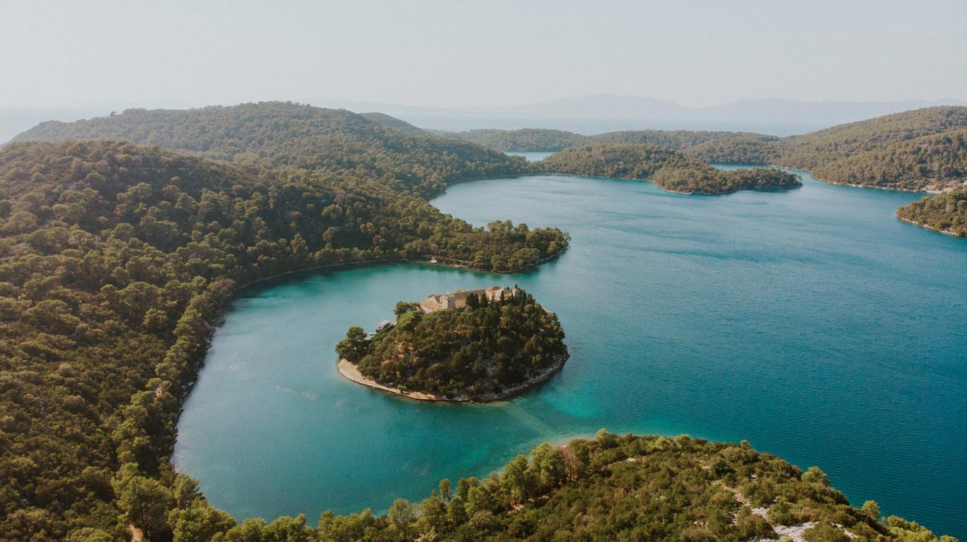 Island on an island