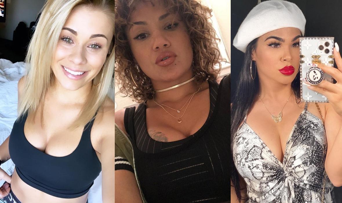 Paige VanZant, Pearl Gonzales i Rachael Ostovich