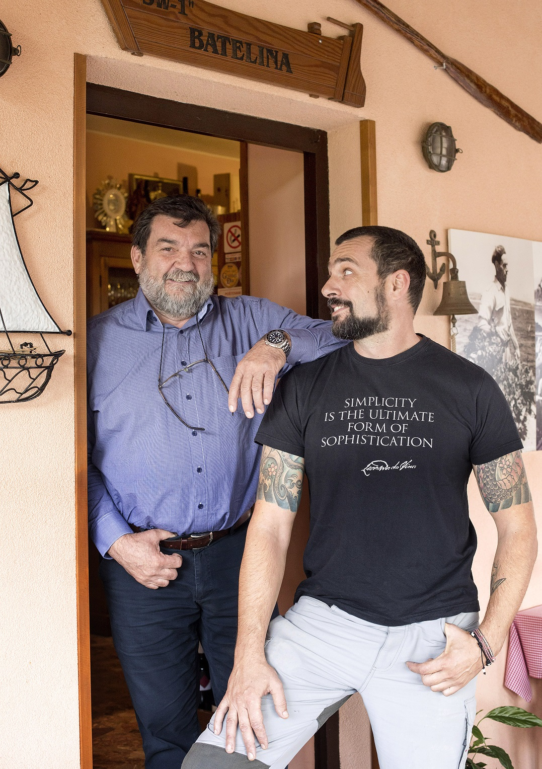 Banjole 06112019 DAVID SKOKO i otac DANILO Foto Mario Kucera