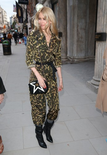 BGUK_1222858 - London, UNITED KINGDOM  - Claudia Schiffer wears jumpsuit Ellen von Unwerth's art exhibition in London  Pictured: Claudia Schiffer    *UK Clients - Pictures Containing Children Please Pixelate Face Prior To Publication*, Image: 370502756, License: Rights-managed, Restrictions: , Model Release: no, Credit line: MAHI / Backgrid UK / Profimedia