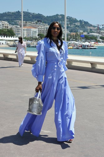 BGUK_1267075 - ** RIGHTS: WORLDWIDE EXCEPT IN ITALY ** CANNES, FRANCE  - Naomi Campbell at the Cannes Lions Festival 2018  Pictured: Naomi Campbell  BACKGRID UK 19 JUNE 2018, Image: 375398750, License: Rights-managed, Restrictions: , Model Release: no, Credit line: Newspress / BACKGRID / Backgrid UK / Profimedia