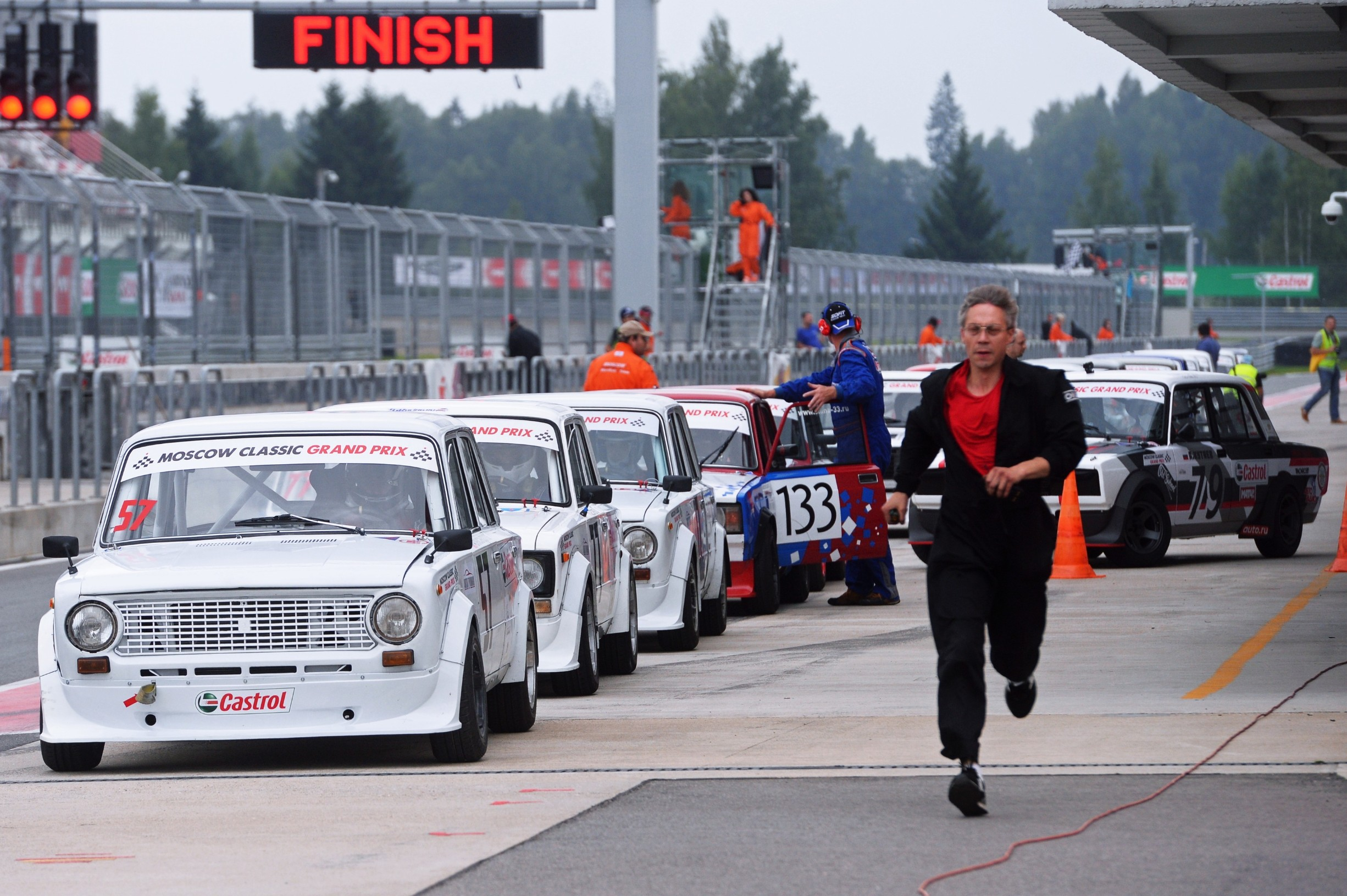 5596778 22.07.2018 VAZ 2101 cars at the 2018 Moscow Classic Grand Prix international vintage car circuit racing series in the Moscow Region., Image: 378933761, License: Rights-managed, Restrictions: , Model Release: no, Credit line: Mikhail Voskresenskiy / Sputnik / Profimedia