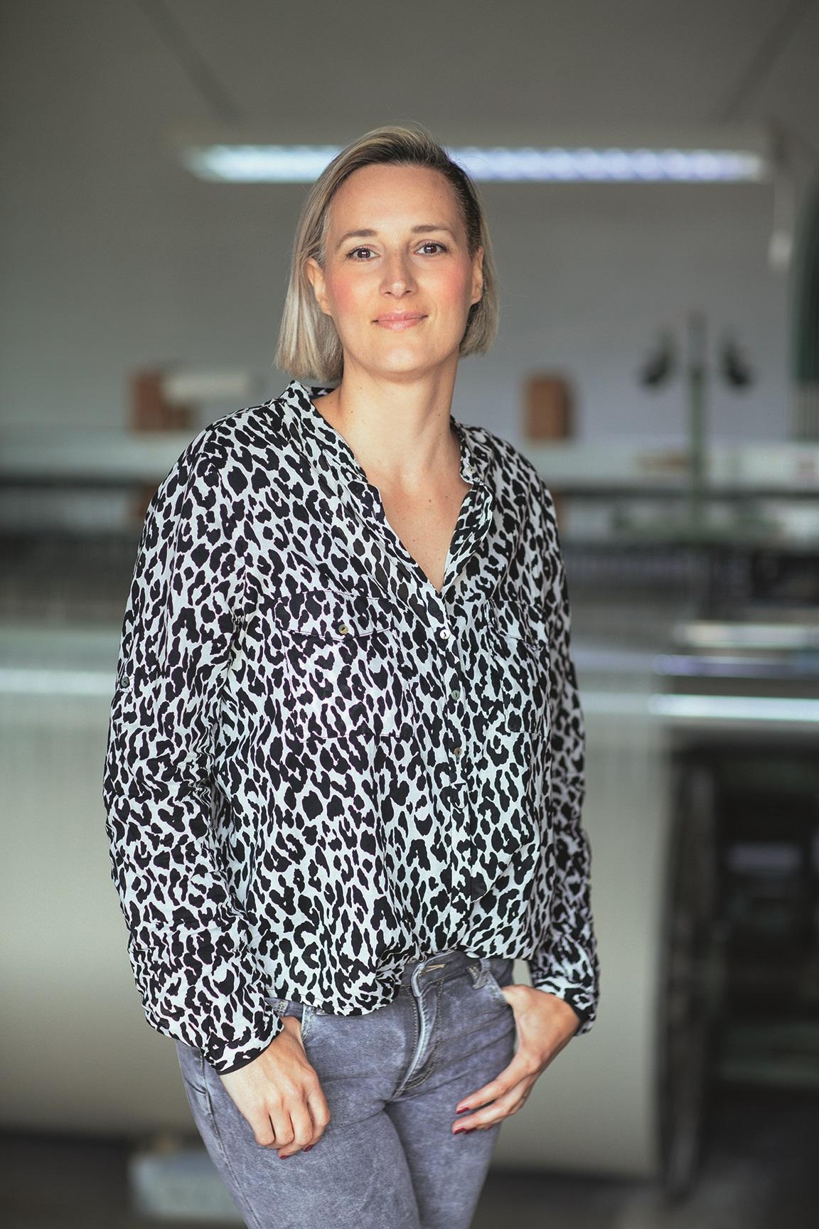 Susobreg 29.04.2020 Iva Hadzina vlasnica obrta Etno Motiv, izradjuje stolnjake inspirirane narodnom bastinom foto vedran peteh