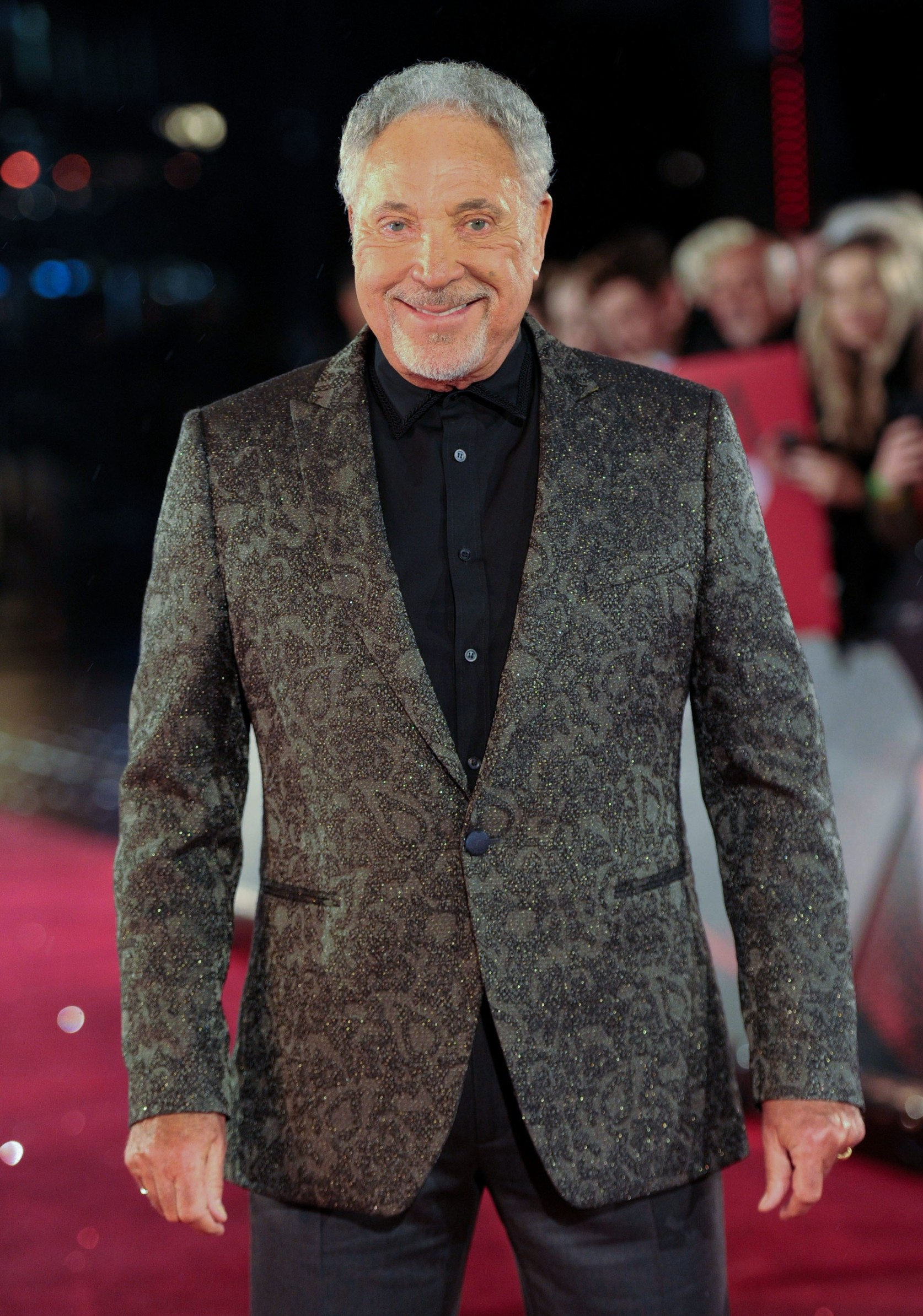 Tom Jones The Voice UK launch, Manchester, UK - 14 Oct 2019,Image: 476728121, License: Rights-managed, Restrictions: , Model Release: no