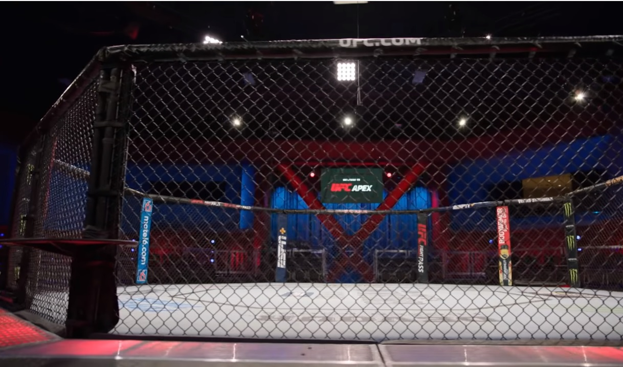 UFC Apex Octagon