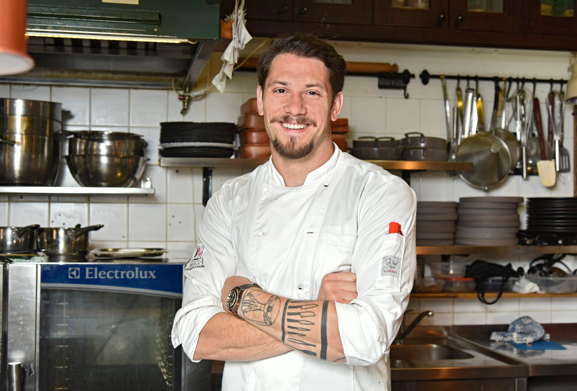 Split,250520 Restaurant Corto Maltese na Obrovu. Na fotografiji: chef Toni Boban. Foto: Josko Supic / CROPIX