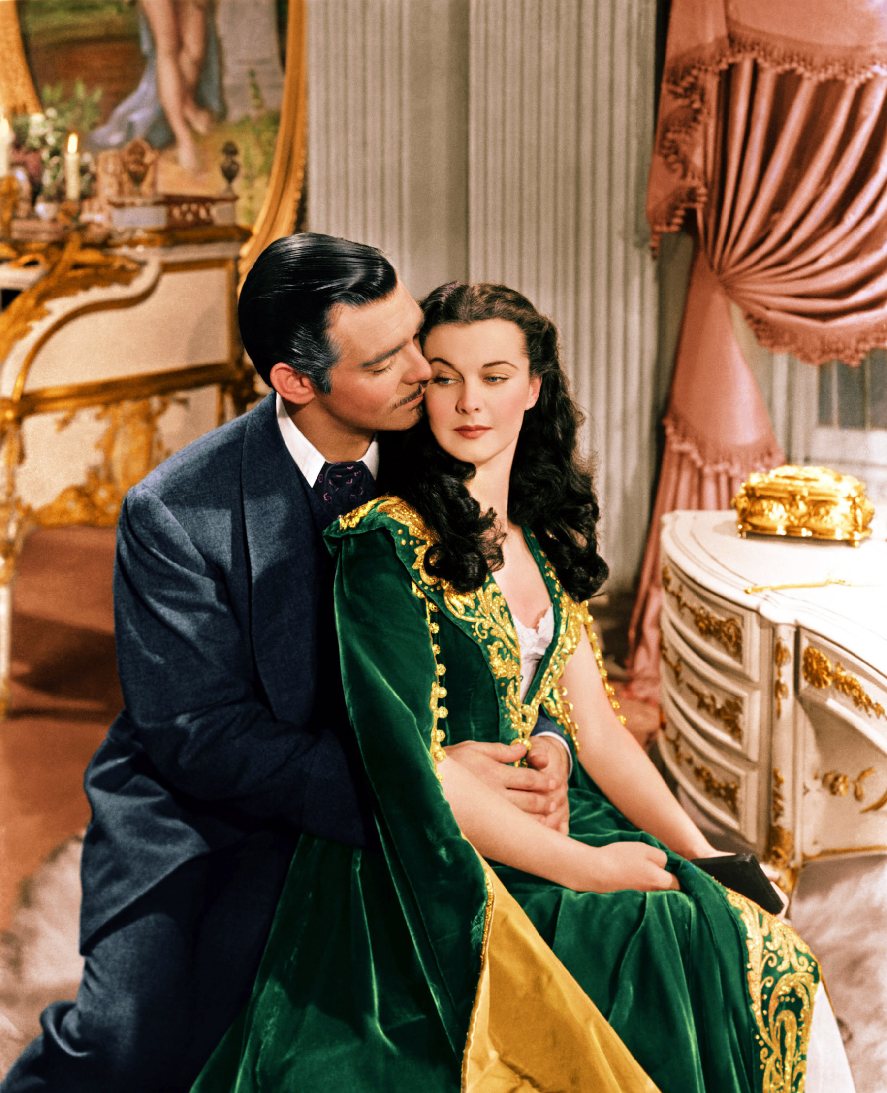 GONE WITH THE WIND, Clark Gable, Vivien Leigh, 1939,Image: 97903861, License: Rights-managed, Restrictions: For usage credit please use; Courtesy Everett Collection, Model Release: no, Credit line: Courtesy Everett Collection / Everett / Profimedia