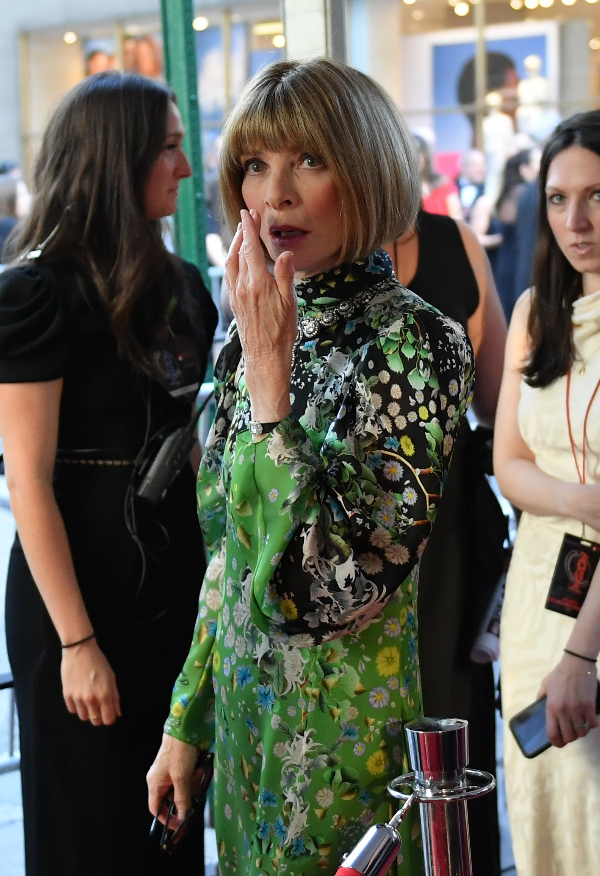 NEW YORK, NEW YORK - JUNE 09: Anna Wintour attends the 73rd Annual Tony Awards at Radio City Music Hall on June 09, 2019 in New York City. (Photo by Mike Coppola/Getty Images for Tony Awards Productions)