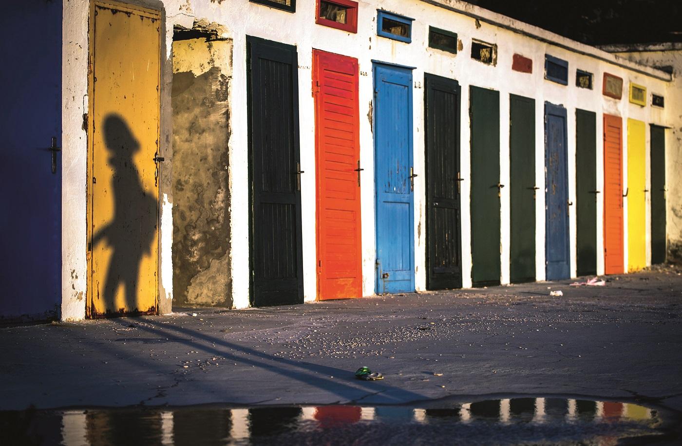 Sibenik, 060520. Zalazak sunca na gradskom kupalistu Jadrija. Foto: Nikolina Vukovic Stipanicev / CROPIX