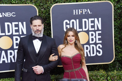 Joe Manganiello, Sofia Vergara attends the 77th Annual Golden Globe Awards at The Beverly Hilton Hotel on January 05, 2020 in Beverly Hills, California,Image: 491250170, License: Rights-managed, Restrictions: WORLD RIGHTS - Fee Payable Upon Reproduction - For queries contact Avalon.red - sales@avalon.red London: +44 (0) 20 7421 6000 Los Angeles: +1 (310) 822 0419 Berlin: +49 (0) 30 76 212 251, Model Release: no, Credit line: JPI Studios/Avalon.red / Avalon Editorial / Profimedia