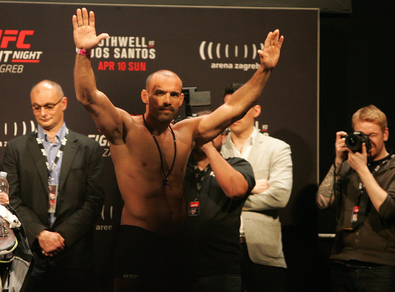 Zagreb, 090416. Arena Zagreb, Laniste. UFC dani otvorenih vrata i vaganje sudionika UFC Night. Na fotografiji: Igor Pokrajac. Foto: Ronald Gorsic / CROPIX