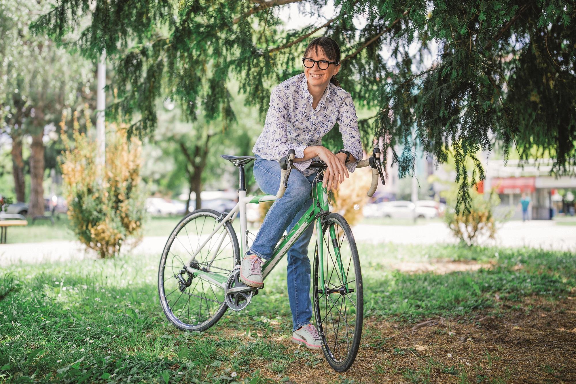 zagreb 02.06.2020 Djevojke i bicikli Iva Gradiser, vladimira spindler, iva ruszkowski foto vedran peteh