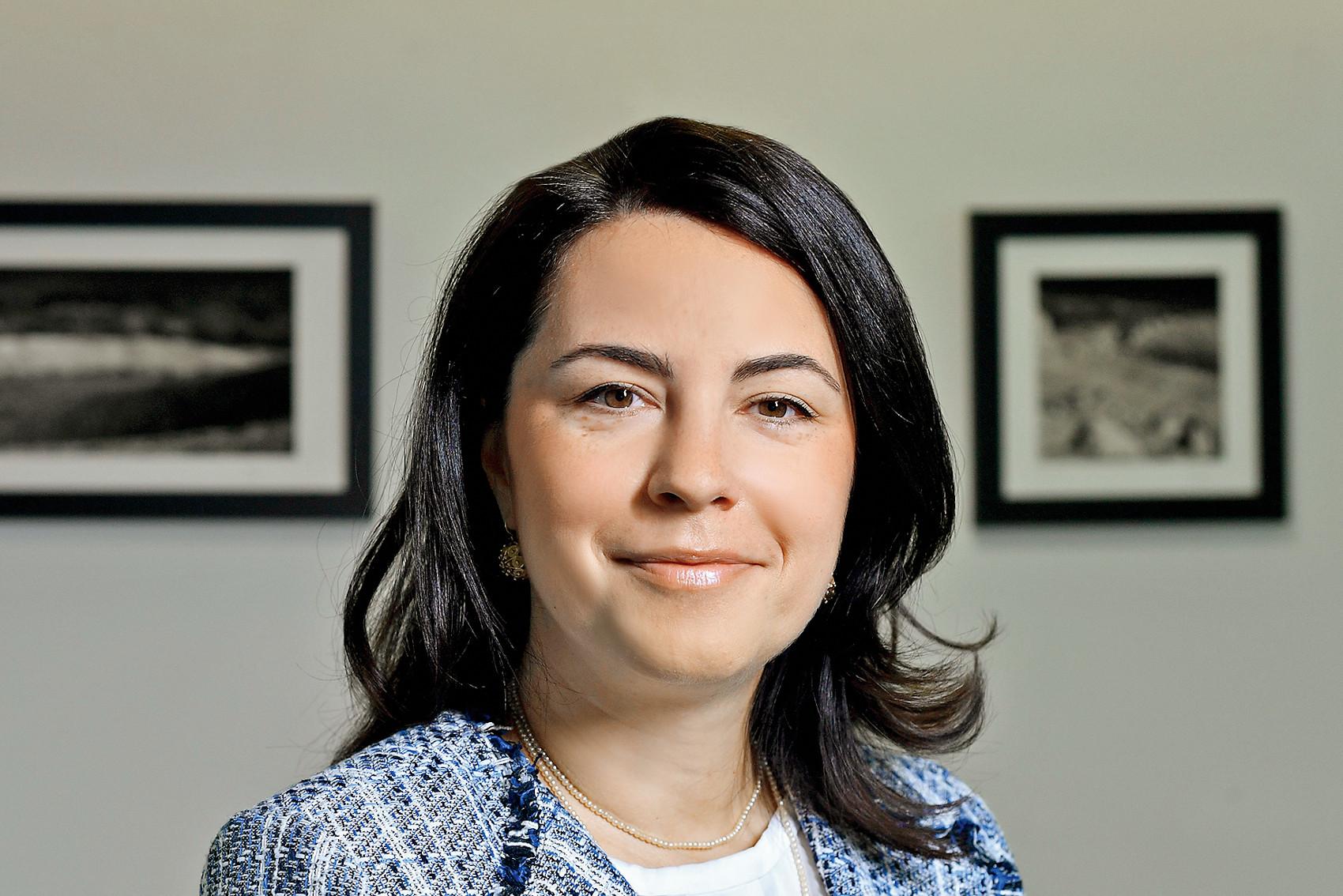 Zagreb, 080620. Ivana Hatvalic Poljak, direktorica tvrtke HTP Orebic, fotografirana u uredu tvrtke. Foto: Boris Kovacev / CROPIX