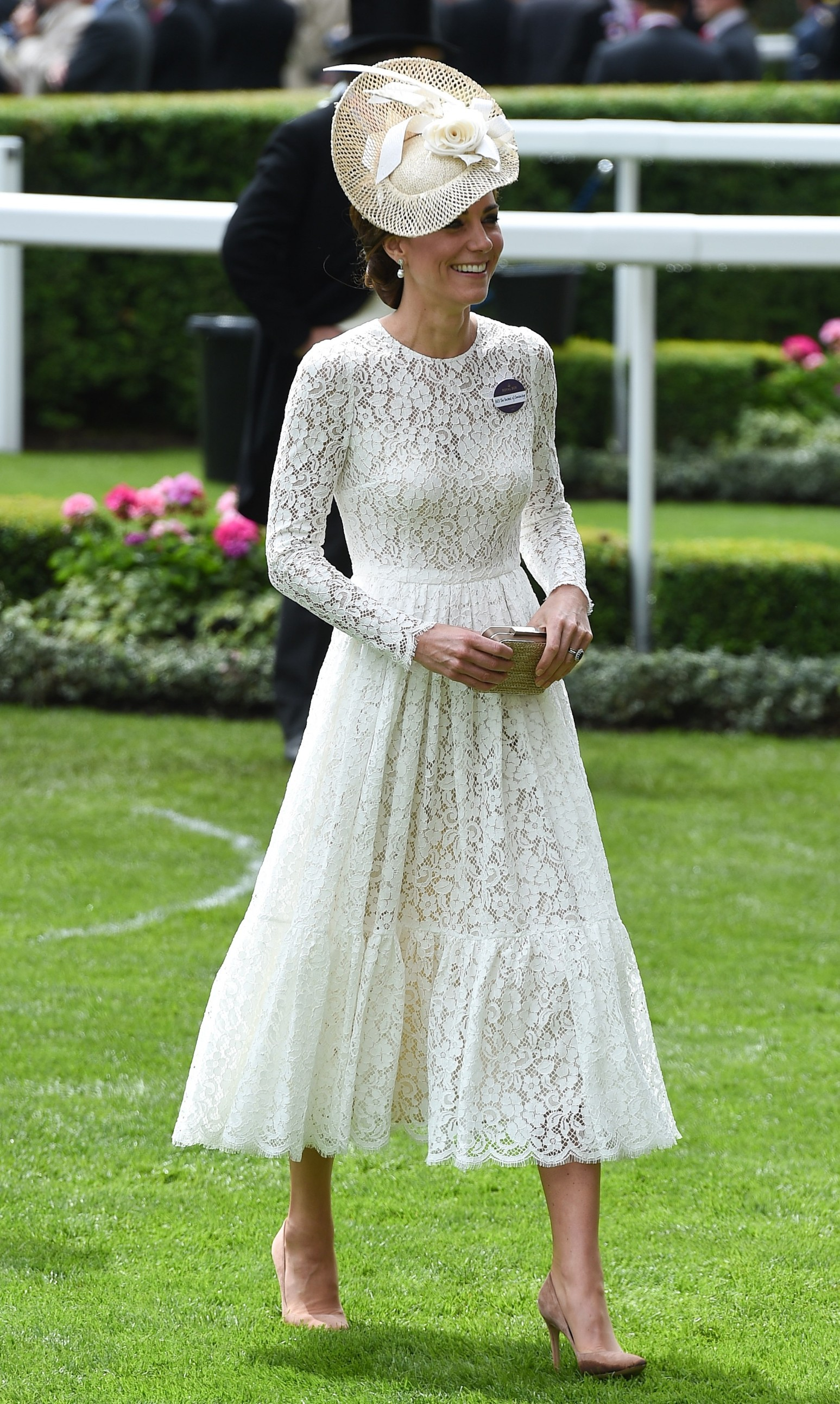 15 June 2016.  Royal Ascot 2016 held at Ascot Racecourse, Ascot, Berkshire.  Here: Catherine, Duchess of Cambridge,Image: 290816704, License: Rights-managed, Restrictions: , Model Release: no, Credit line: GoffPhotos.com / Goff Photos / Profimedia