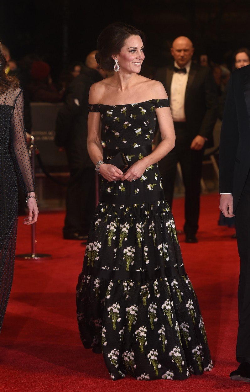 Picture Shows: Kate Middleton, Catherine, Duchess of Cambridge  February 12, 2017  Catherine, Duchess of Cambridge and Prince William, Duke of Cambridge attend the 70th EE British Academy Film Awards (BAFTA) at Royal Albert Hall in London, UK.   WORLDWIDE RIGHTS,Image: 320668563, License: Rights-managed, Restrictions: Non Exclusive No Digital Rights Without Permission Please Credit All Uses, Model Release: no, Credit line: Zed Jameson / FameFlynet.uk.com / Splash / Profimedia