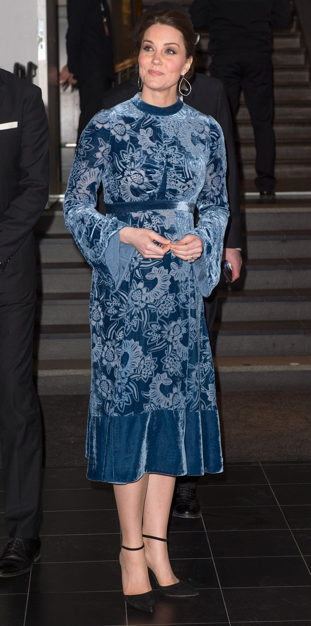 The Duke and Duchess of Cambridge, accompanied by Crown Princess Victoria and Prince Daniel of Sweden, attend a reception to celebrate Swedish Culture at the Fotografiska Galleries, Stockholm, Sweden, on the 31st January 2018. 31 Jan 2018,Image: 361975573, License: Rights-managed, Restrictions: NO United Kingdom, Model Release: no, Credit line: MEGA / The Mega Agency / Profimedia
