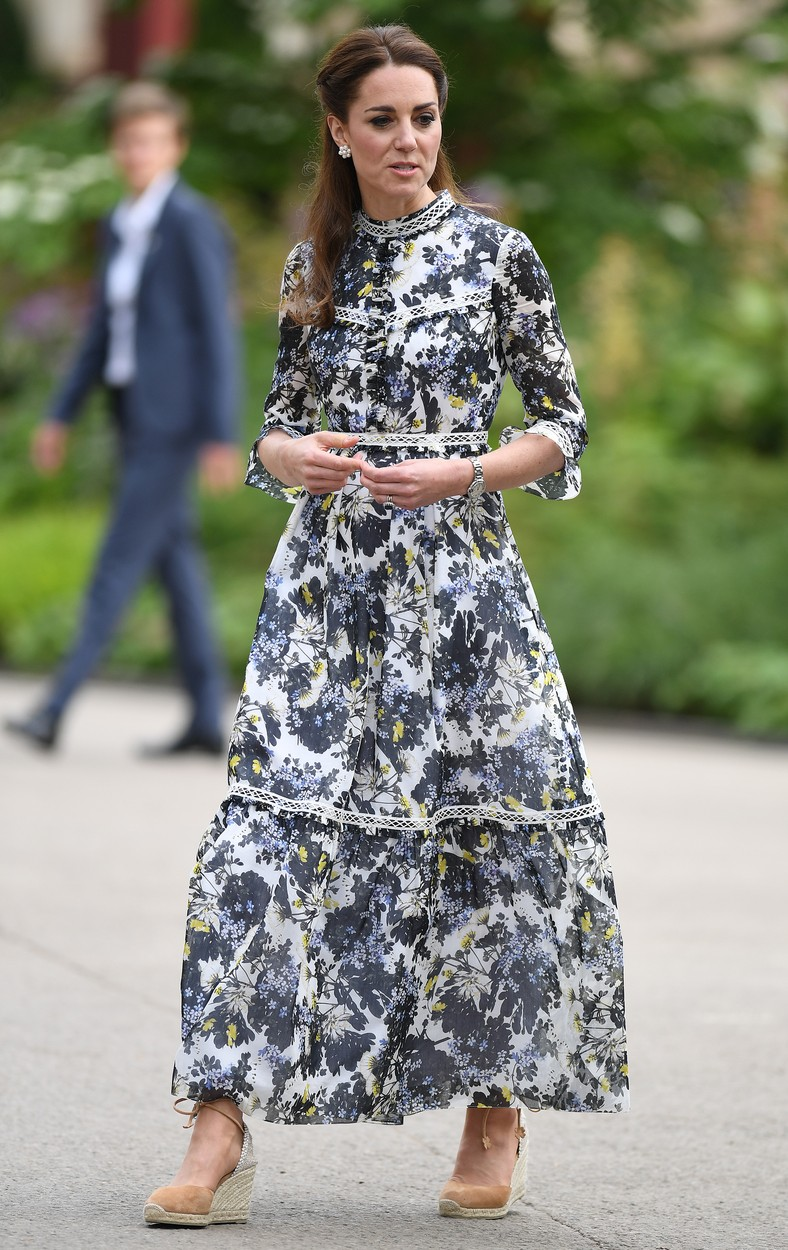 20 May 2019.  Queen Elizabeth, Prince William, Duke of Cambridge, Catherine, Duchess of Cambridge attend the Chelsea Flower Show at the Royal Hospital Chelsea, London, UK, on the 20th May 2019.,Image: 435114338, License: Rights-managed, Restrictions: **No UK Sales Until 28 Days After Create Date**, Model Release: no, Credit line: Ken Goff Rota / Goff Photos / Profimedia