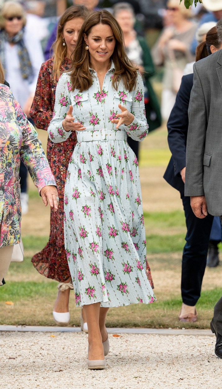 10 September 2019.  Catherine, Duchess of Cambridge attends the