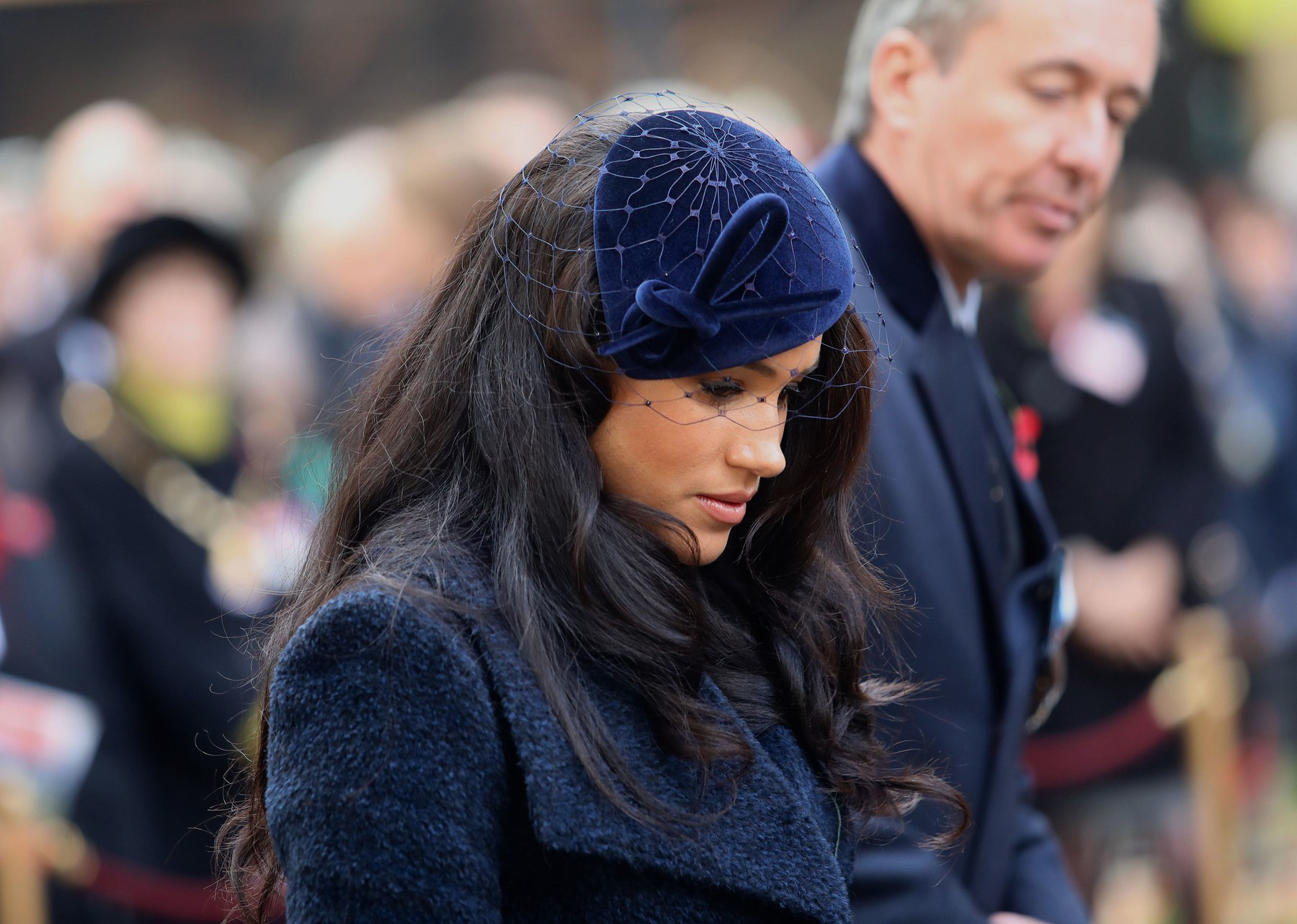 Meghan Duchess of Sussex attends the opening of the 91st 'The Field of Remembrance' Westminster Abbey Field of Remembrance opening, London, UK - 07 Nov 2019,Image: 481678008, License: Rights-managed, Restrictions: , Model Release: no