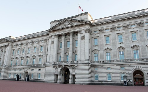 A quiet Buckingham Palace seen during the coronavirus outbreak Buckingham Palace, London, UK - 31 May 2020,Image: 525163646, License: Rights-managed, Restrictions: , Model Release: no