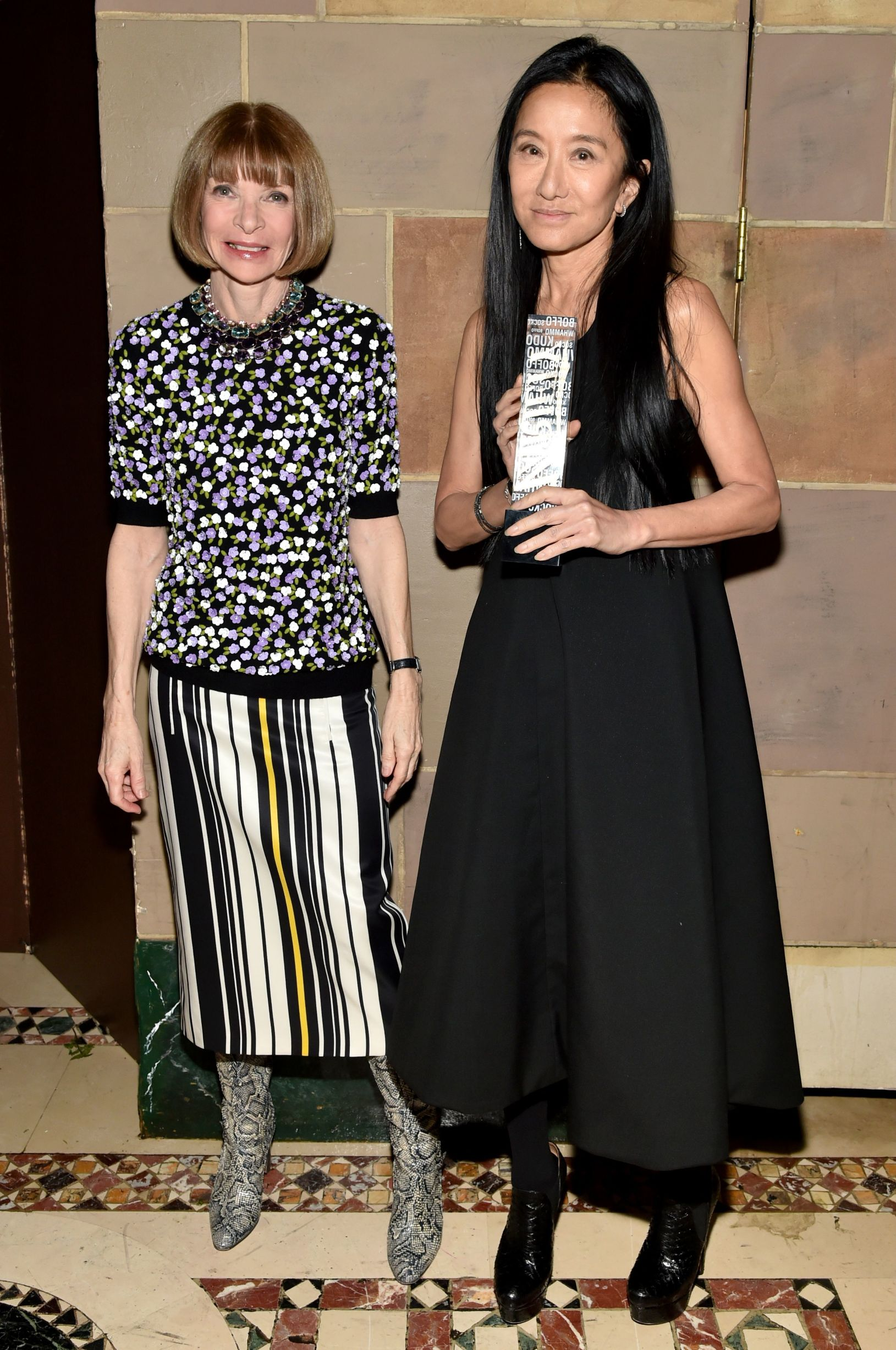 /Anna Wintour, Vera Wang Variety's Power of Women NY Presented by Lifetime, Inside, New York, America - 08 Apr 2016,Image: 280934469, License: Rights-managed, Restrictions: , Model Release: no, Credit line: Variety / Shutterstock Editorial / Profimedia