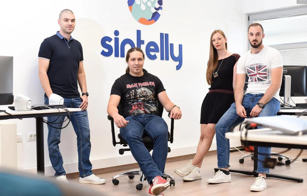 Sintelly: Ive Botunac, Marin Babajko, Viktorija Vegar Košuta i Mateo Bukva