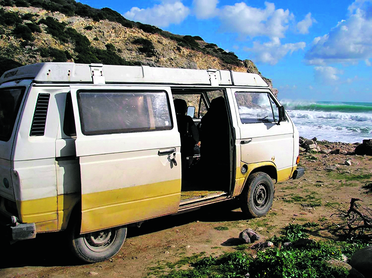 An undated handout photograph released by the Metropolitan Police in London on June 3, 2020, shows VW T3 Westfalia campervan, used in and around Praia da Luz, Portugal, by a new suspect in the case of missing British girl Madeleine McCann. - German police said Wednesday they have identified a new suspect in the mysterious disappearance of British girl Madeleine McCann in 2007.