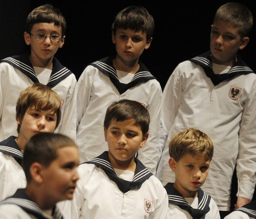 MOSCOW, RUSSIA. OCTOBER 2, 2011. Vienna Boys' Choir perform at Moscow International House of Music (MMDM).,Image: 103762330, License: Rights-managed, Restrictions: , Model Release: no, Credit line: Mudrats Alexandra / TASS / Profimedia
