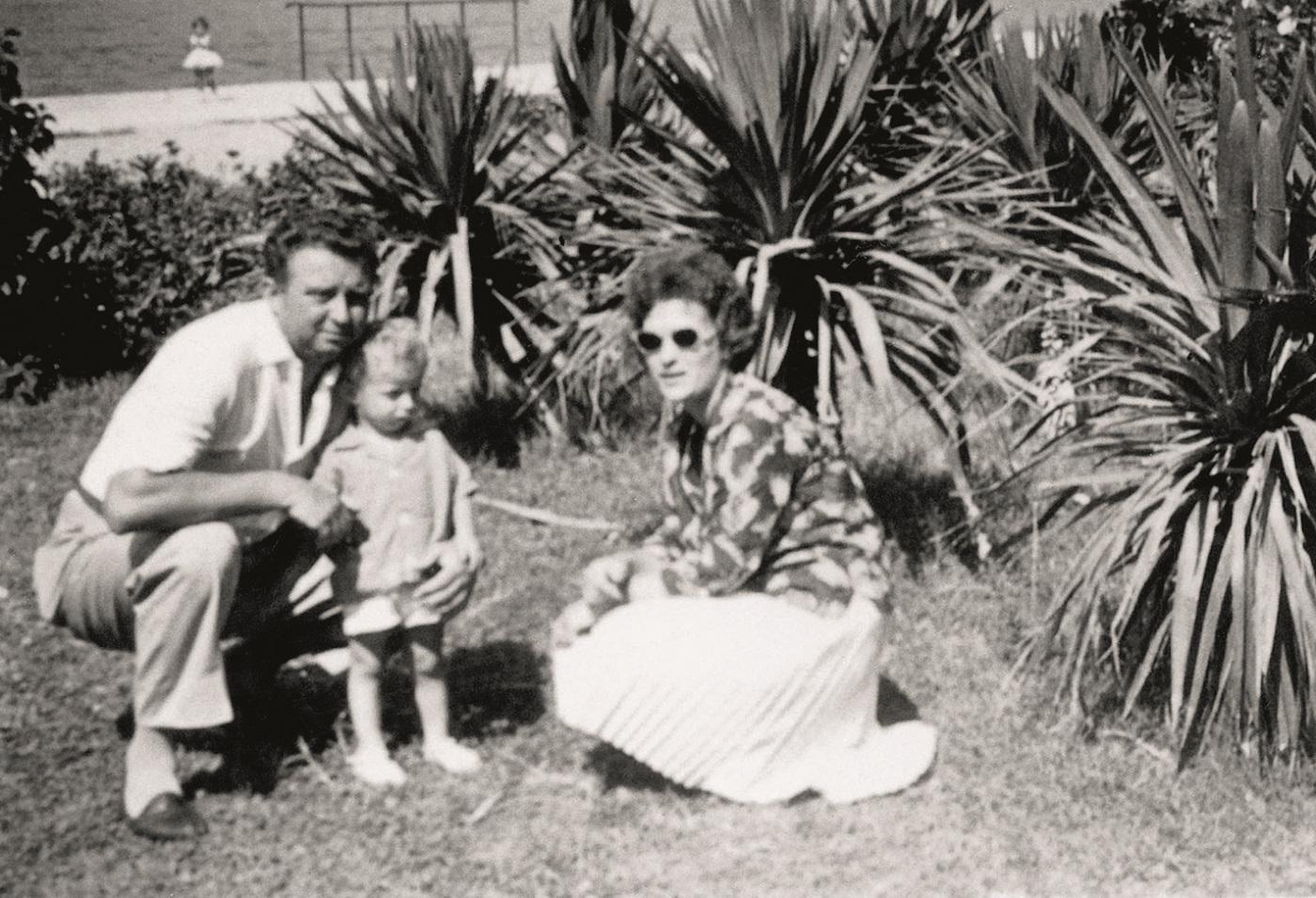 Jasenko Houra s roditeljima Gloria 448 foto: Ivan Posavec