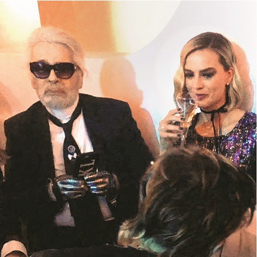 BGUK_1229890 - Various, UNITED KINGDOM  - Celebrity social media photos!  Pictured: Margot Robbie, Karl Lagerfeld    *UK Clients - Pictures Containing Children Please Pixelate Face Prior To Publication*,Image: 371184717, License: Rights-managed, Restrictions: , Model Release: no, Credit line: NIJO / Backgrid UK / Profimedia