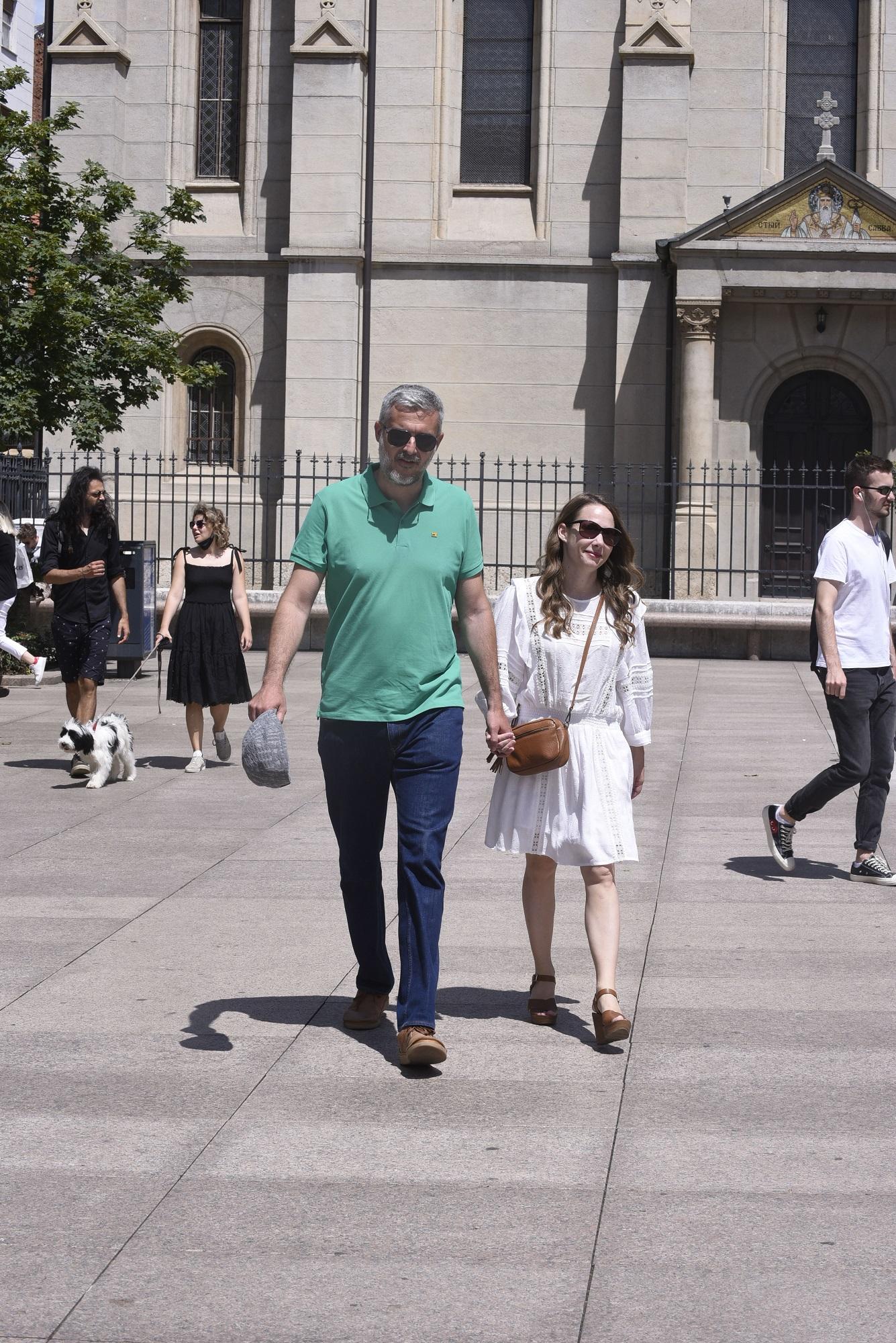 Spica / Zagreb 04.07.2020. / foto: Davor Matota / Nino Raspudic i Marija Selak Raspudic