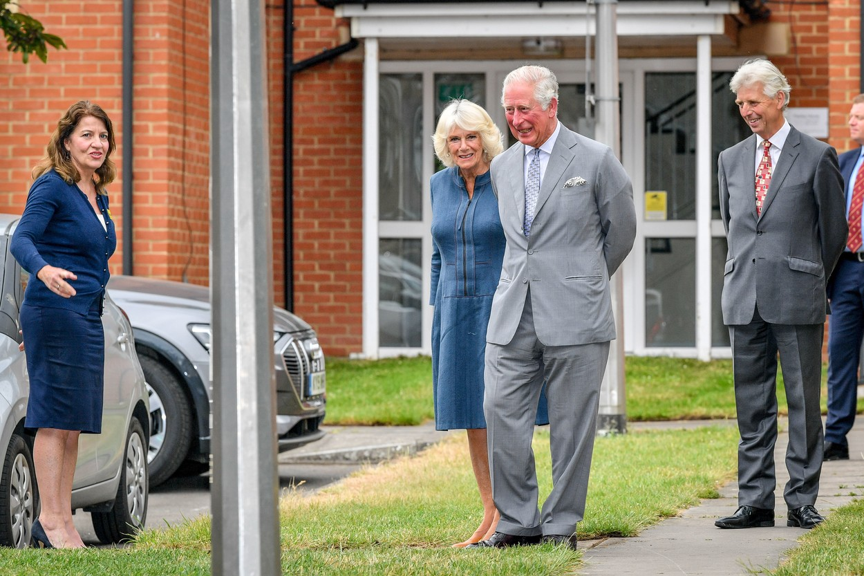The Prince of Wales and the Duchess of Cornwall arrive at Gloucestershire Royal Hospital as they meet front line key workers who who have responded to the COVID-19 pandemic during a visit to Gloucestershire Royal Hospital.,Image: 532223489, License: Rights-managed, Restrictions: NO UK USE  FOR SEVEN DAYS - Fee Payable Upon Reproduction - For queries contact Avalon.red - sales@avalon.red London: +44 (0) 20 7421 6000 Los Angeles: +1 (310) 822 0419 Berlin: +49 (0) 30 76 212 251, Model Release: no, Credit line: Avalon.red / Avalon Editorial / Profimedia