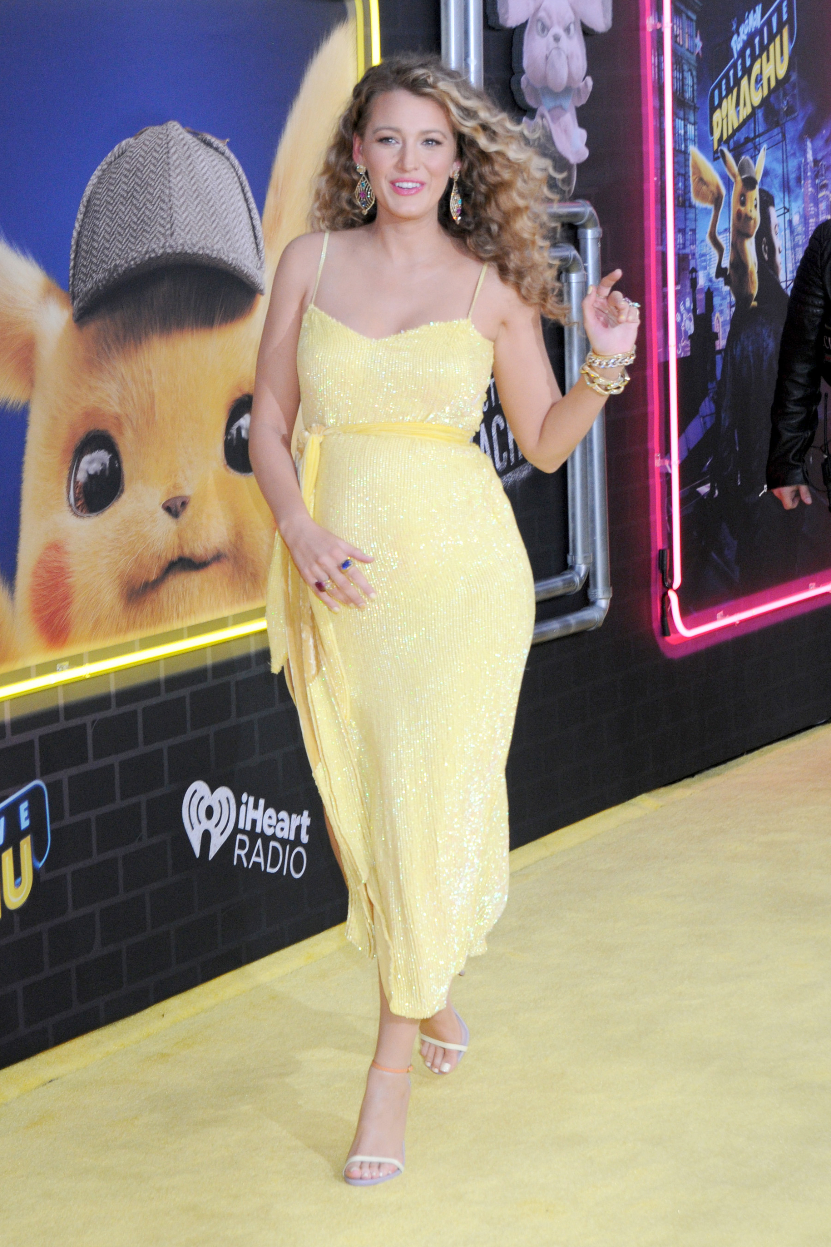Blake Lively (pregnant) at the U.S. Premiere of