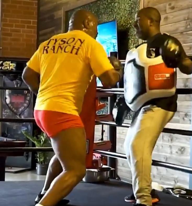 Mike Tyson i Rafael Cordeiro