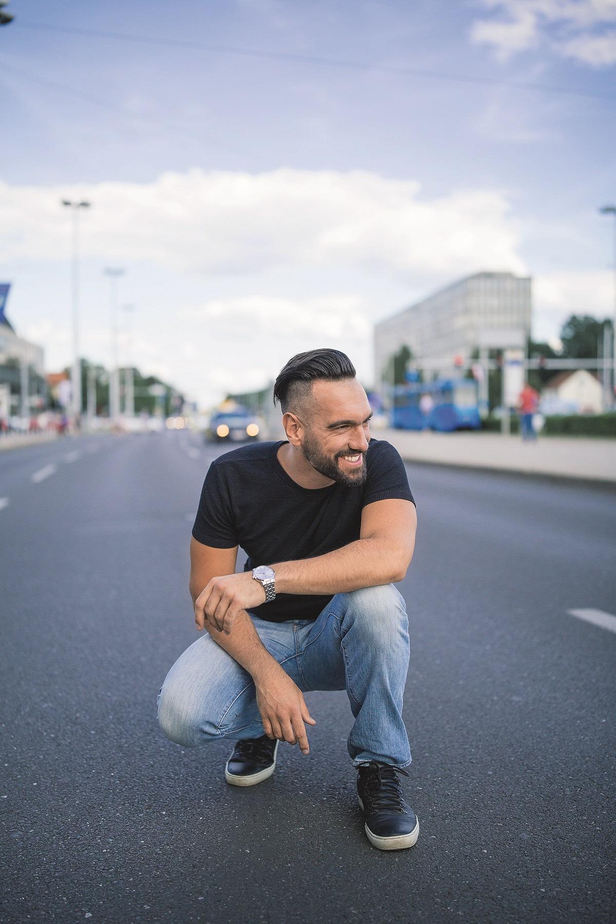 zagreb 13.07.2020 Alen Vlahovic - pjevac foto vedran peteh