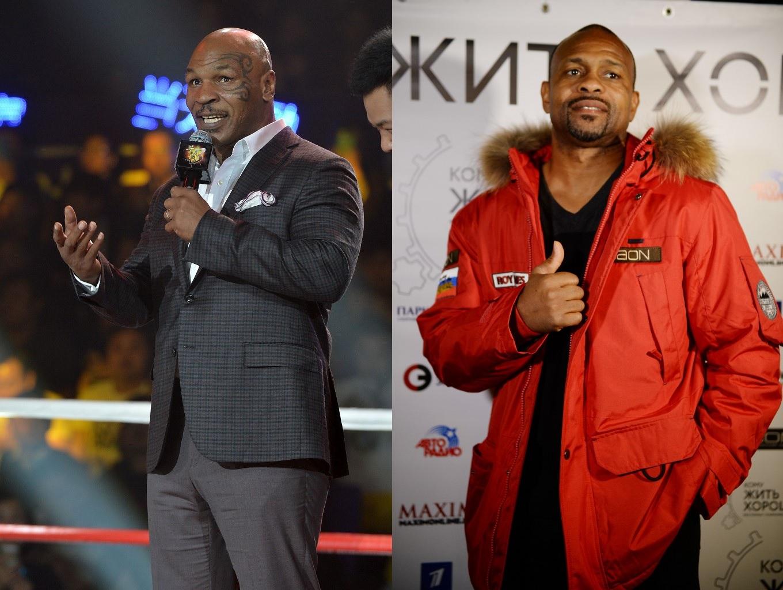 Mike Tyson i Roy Jones Jr.
