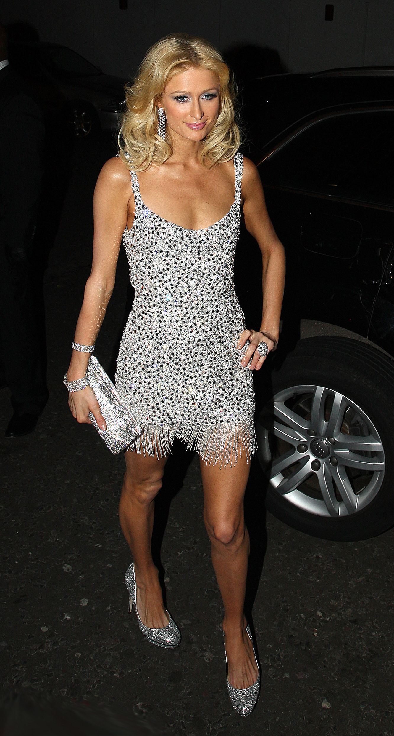 29th October 2008. Paris Hilton is pictured outside of the National Television Awards, The Royal Albert Hall, London.,Image: 27878613, License: Rights-managed, Restrictions: , Model Release: no, Credit line: Weir / Goff Photos / Profimedia